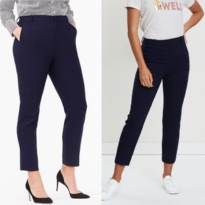 High Rise Navy Cameron Pants by J. Crew | NWT